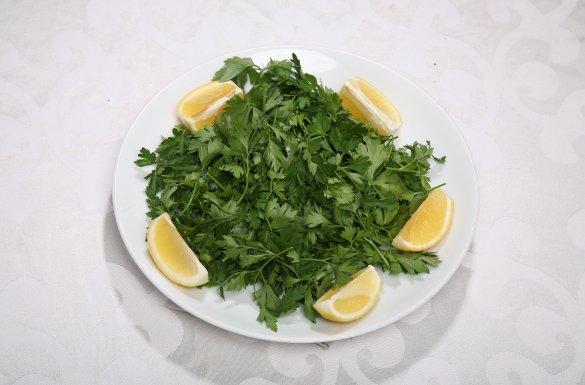 Maydonozlu Salata